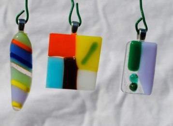 Fused sheet and rod glass