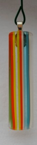 Fused rod glass